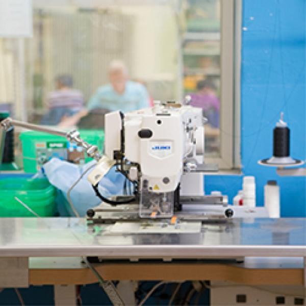 Industrienäherei Maschine