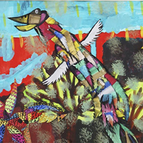 Kunstwerk aus dem Atelier von Marion Weirauch