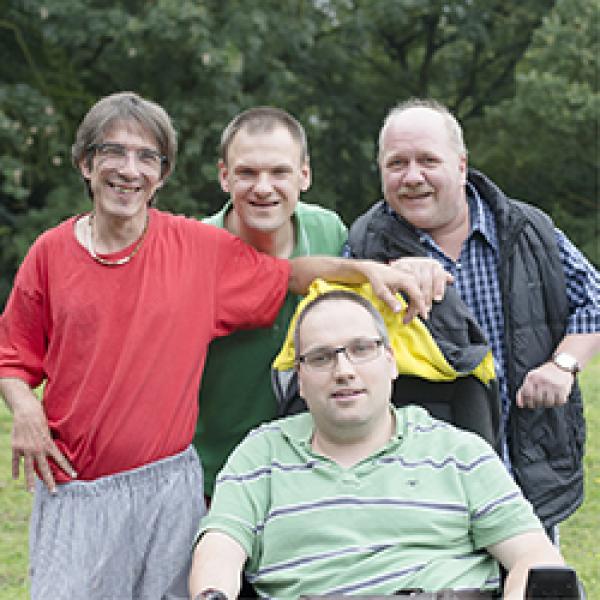Gruppenfoto des Werkstattrats